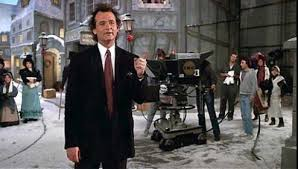 Scrooged set