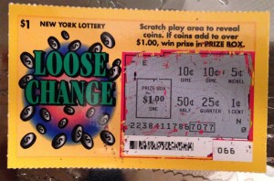 ny lottery loose change