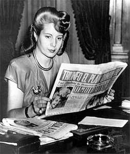 Stop looking for ways to incorporate world events into pushing your political views onto children! That's my job, Evita. (This will make sense shortly.)