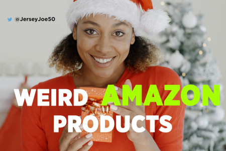 [Kicking back with Jersey Joe] Weird Amazon...