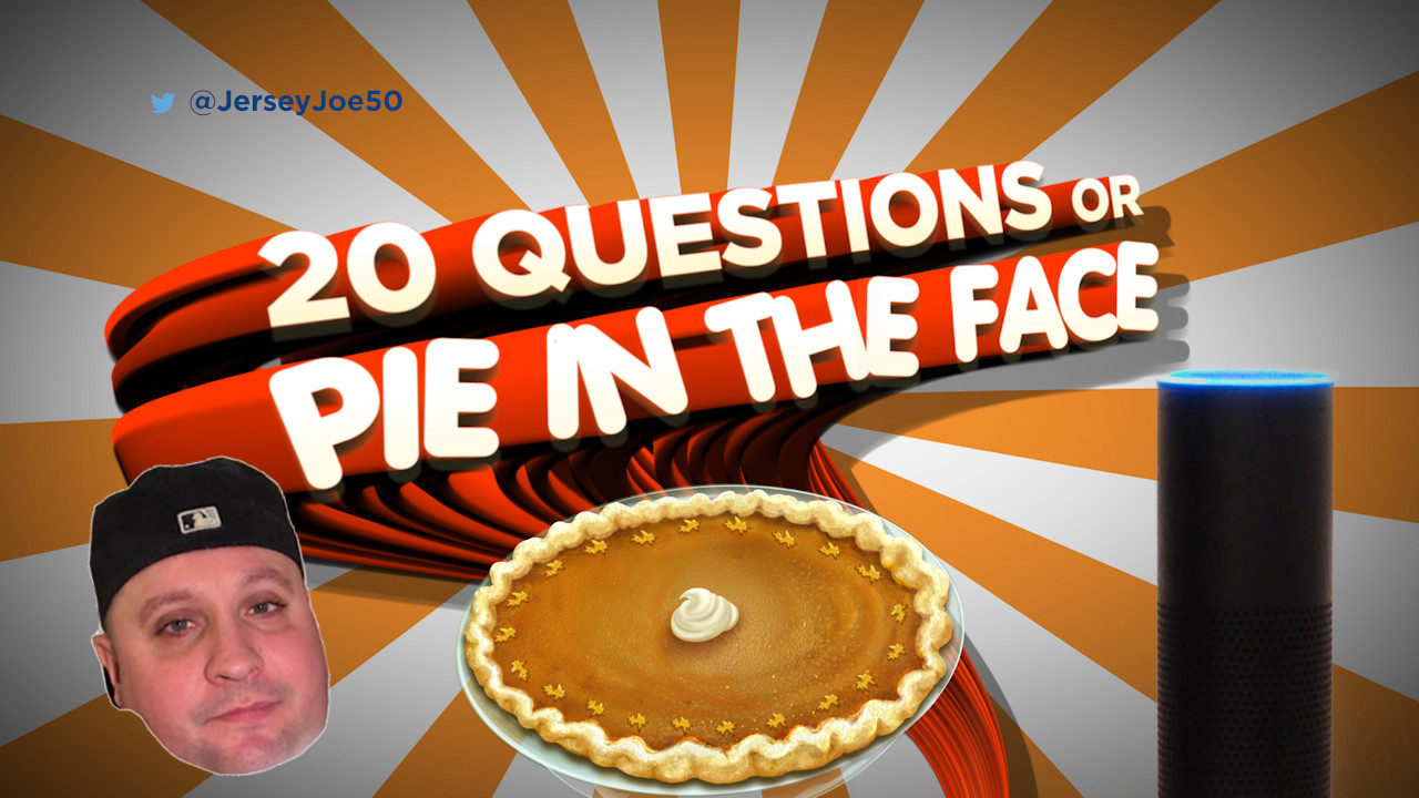 20 questions or pie icon